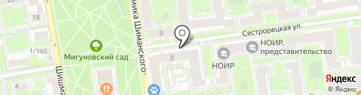 Форма Стайл на карте Санкт-Петербурга