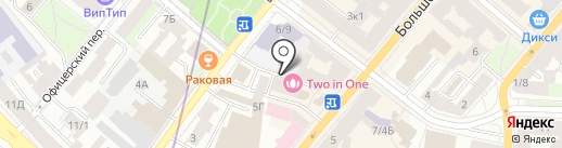 Тур Экспресс на карте Санкт-Петербурга