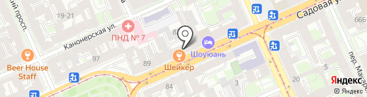 Гламур на карте Санкт-Петербурга