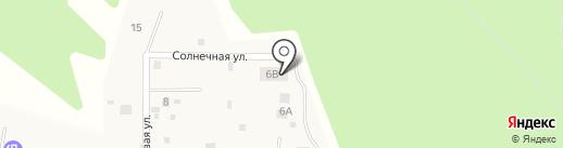 Агалатово на карте Агалатово