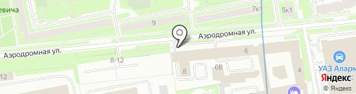 Альт-Фасад СЗ на карте Санкт-Петербурга