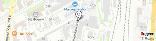 Фирма Невская сушка, ЗАО на карте Санкт-Петербурга