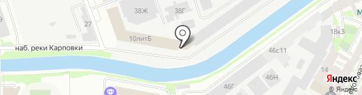SC на карте Санкт-Петербурга