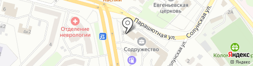 СОДРУЖЕСТВО, ЗАО на карте Санкт-Петербурга