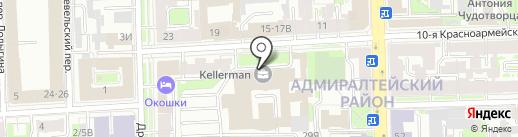 Сен-Гобен Строительная Продукция Рус на карте Санкт-Петербурга
