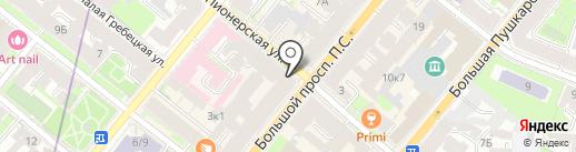 СТР на карте Санкт-Петербурга