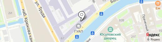 Радиолинк, ЗАО на карте Санкт-Петербурга