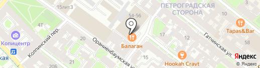 Stilhaus на карте Санкт-Петербурга