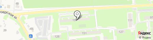 Адвокатский кабинет Малышевой В.А. на карте Агалатово