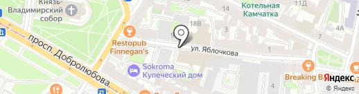 Фрезениус СП, ЗАО на карте Санкт-Петербурга