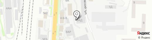 Зенон-СПБ на карте Санкт-Петербурга