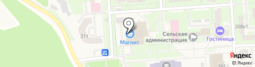Магазин головных уборов на ул. Агалатово на карте Агалатово