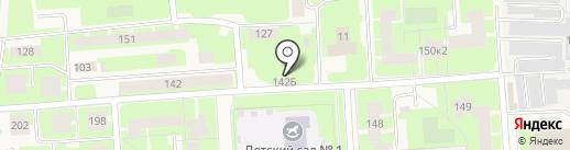 Магазин хозяйственных товаров на ул. Агалатово на карте Агалатово