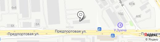 Автопак Нева на карте Санкт-Петербурга