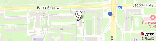 Отдел вселения и регистрационного учета граждан Московского района на карте Санкт-Петербурга