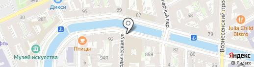 Государственная техническая инспекция Санкт-Петербурга на карте Санкт-Петербурга