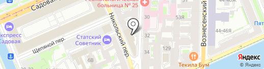 Эдвайс ЛэнД на карте Санкт-Петербурга