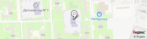 Агалатовский детский сад №1 на карте Агалатово