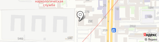 Группа компаний Хоссер на карте Санкт-Петербурга