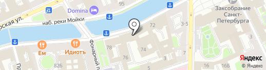 Фонд капитального строительства и реконструкции, ГКУ на карте Санкт-Петербурга