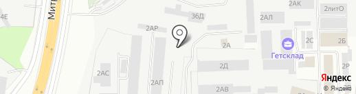 Автореаниматор СПб на карте Санкт-Петербурга