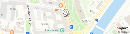 VERANDA на карте Санкт-Петербурга