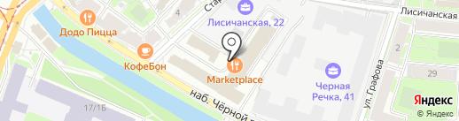 Альянс-лизинг, ЗАО на карте Санкт-Петербурга