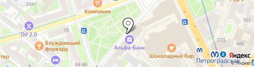 Русский Регистр-Балтийская инспекция на карте Санкт-Петербурга