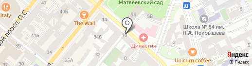 Студия красивой одежды Стаса Лопаткина на карте Санкт-Петербурга