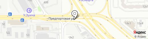 Коллективная автостоянка №8, общественная организация Всероссийское общество автомобилистов на карте Санкт-Петербурга