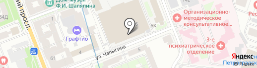 ИксКейп на карте Санкт-Петербурга
