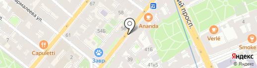 Бизнес-центр на карте Санкт-Петербурга