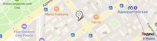 Mayfair Investment Capital, Ltd на карте Санкт-Петербурга