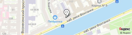 Marina Gisich Gallery на карте Санкт-Петербурга
