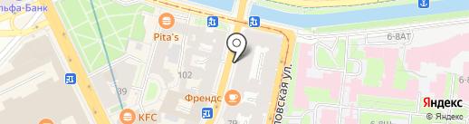 Городское обозрение красивых домов и квартир на карте Санкт-Петербурга