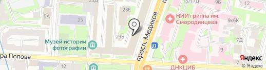 064 на карте Санкт-Петербурга