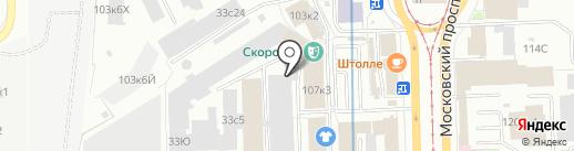 Дилан СПб на карте Санкт-Петербурга