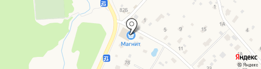 Магнит на карте Вартемяг