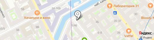 Швейный Мир на карте Санкт-Петербурга