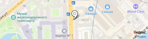ЛЕНМИКРО на карте Санкт-Петербурга