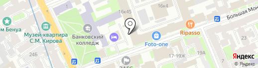 Digital agency iSPi на карте Санкт-Петербурга