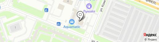 Дедал-Инвест на карте Санкт-Петербурга