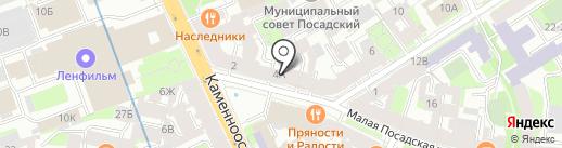 DayNight на карте Санкт-Петербурга