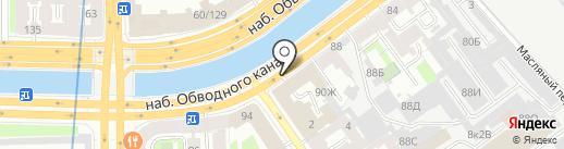 МАСТЕР на карте Санкт-Петербурга