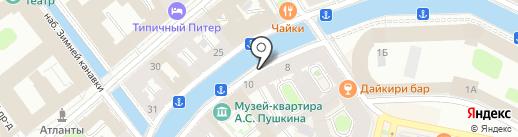 Санкт-Петербургский союз дизайнеров на карте Санкт-Петербурга