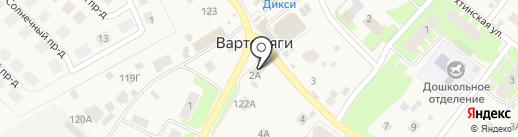 Вираж на карте Вартемяг