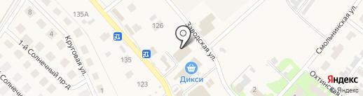 Магазин строительных и отделочных материалов на карте Вартемяг