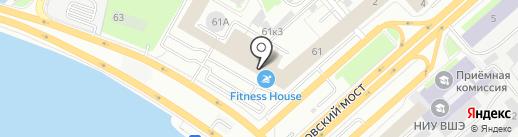 Банк ВТБ, ПАО на карте Санкт-Петербурга