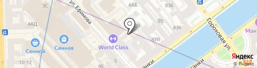 Аква-Строй на карте Санкт-Петербурга