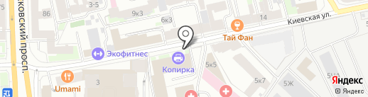 Невский банк, ПАО на карте Санкт-Петербурга